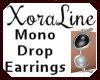 (XL)Mono Drop Earrings