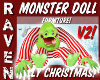 CHRISTMAS MONSTER DOLL 2