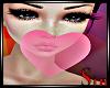 BubbleGum Heart Pink