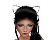 Purple Cat  Ears