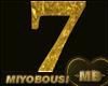 [MB]NUMBER SEVEN(7) GOLD