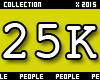 25K Support Sticker