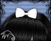 LK~Alice Hair Bow-White