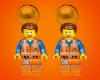 Emmet LEGO Earrings
