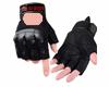 black biker gloves lollo