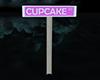 CUPCAKE STREET SIGN
