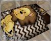 BABY LION BLANKET W MAT