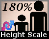 Height Scale 180 % -F-