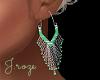 Bohemian Jade Earrings