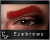 Sultry Brows-Dark Red