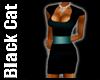 Short Teal Colour Dress
