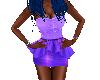Mystic Violet Star Dress