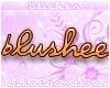 Blushee Nametag