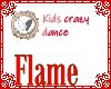 Kids crazy dance circle