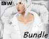 White Fur Coat Bundle