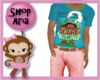 Boys Summer Moana Outfit
