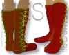 9 Button Soft Boots M