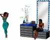 Nia Mirror Dresser Seat