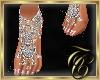 TC~ Silver Foot Jewelry