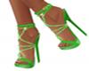 Green Stilettoes