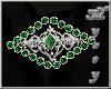 ~MR~ Waist Bling Emerald