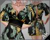 ~AK~ Floral: Onyx & Gold