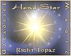 Hand Star  R Topaz