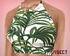 ▼ Palm Tree Crop-Top