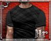 Hr| Plaid Dark Tshirt
