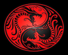 geisha red dragon