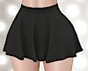 [rk2]Flare Mini Skirt BK
