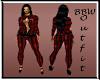 BBW Harliquin red 4