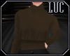 [luc] Sweater Brown