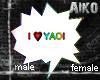 [Aiko]I Love Yaoi Bubble