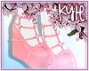 Rose Pink Heart Heels V2
