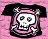 *CA* Pink Skull Tee