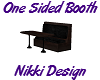 [ND] Booth Bench 1 Sided