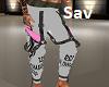 Sophia Model Pants(Gray)