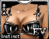 EV Instinct Bra Black