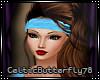 Blue Workout Headband