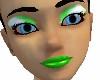 Fairy Makeup Green W.