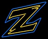 Akron Zips Neon Sign
