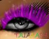 TAJ:PurpleEyeLashes