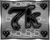 7k SUPPORT STICKER