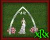 Wedding Dove Arch Silver
