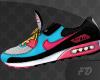 Air Max Cyan & Pink