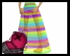 Rainbow Goddess Skirt