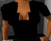 Open Back Black Shirt