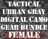 Gray DigitalCamo BundleF