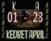 KEDBET APRIL / ARABIC RX